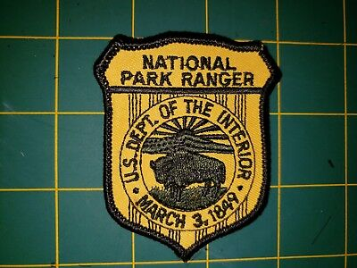 Us Department Of The Interior National Park Ranger Police Patch Federal Dc Npr