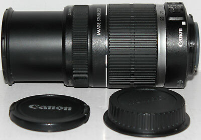 Canon EF-S 55-250mm f/4-5.6 IS lens [in excellent condition]