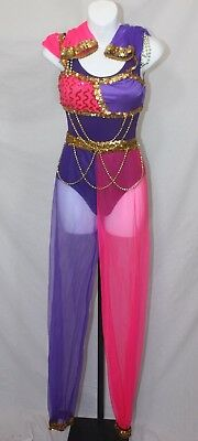 Arabian PinkPurple Nutcracker Ballet Dance Costumes Halloween, Recital, Dress Up