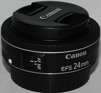 Canon EF-S 24mm f/2.8 STM 'pancake' prime lens [boxed, exc. condition]