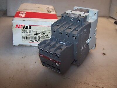 New Abb 20 Hp Ac Motor Contactor 1Sbl241001R8432 Auxiliary A26-30-32 Coil 120Vac