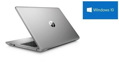 HP Notebook silber 8GB RAM 1TB WLAN DVD Brenner HDMI Webcam matt Windows10 Pro