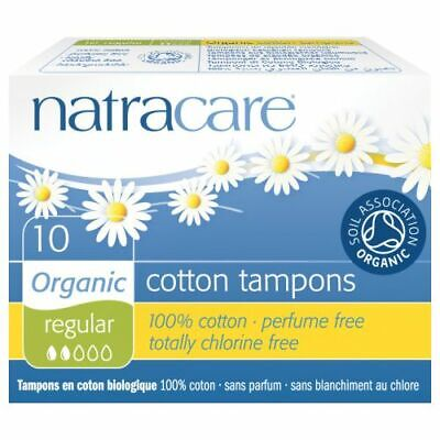 Tampons R'gulier, 10 Ct par Natracare