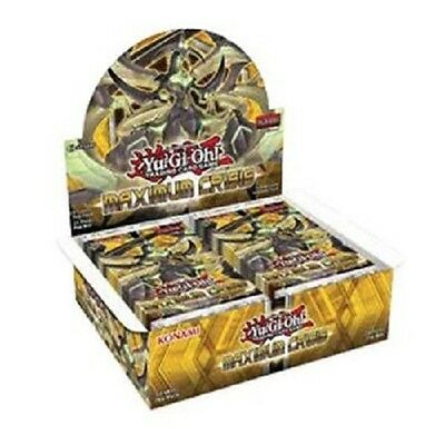 YU-GI-OH Maximum Crisis Booster Display 24 Packs 1.Auflage deutsch 24 Holos