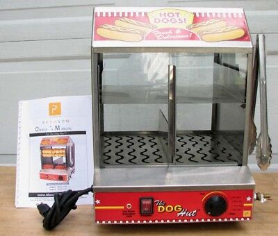 Paragon 8020 Hot Dog Hut Steamer Merchandiser 4 Professional Concessionaires