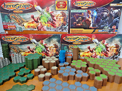 Heroscape Lot About 6 Sets of Tiles Plus More Free Shipping