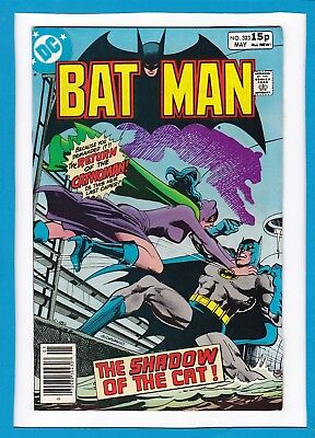 """Batman #323_May 1980_Very Fine_Catwoman_""""the Shadow Of The Cat""""_Bronze Age Dc Uk"""