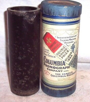 """Columbia Cylinder Phonograph 6"""" Cylinder Record Ob/lid #85024 , """" A Gay Gosson """""""