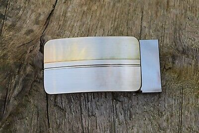 "Replacement Metal Belt Buckle TO FIT 35mm 1 3/8"" BELT  Clip On Buckle AF"