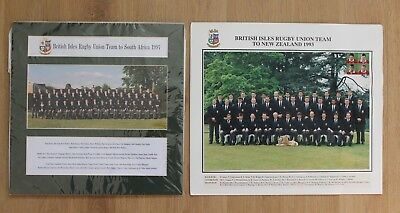 British Rugby Union team photograph to New Zealand 1993 & South Africa 1997