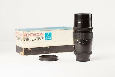 Pentacon  (Meyer Optik Orestagor)  200mm f4 Lens. Very Good Condition, with Box.