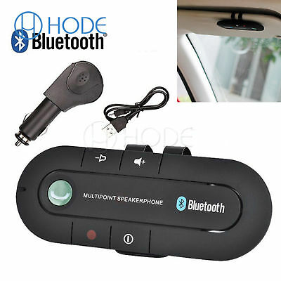 Wireless Bluetooth Handsfree Multipoint Speakerphone Speaker Car Kit Sale