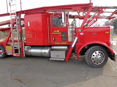 2014 Peterbilt 388 and Cottrell 7512 mst car hauler transporter