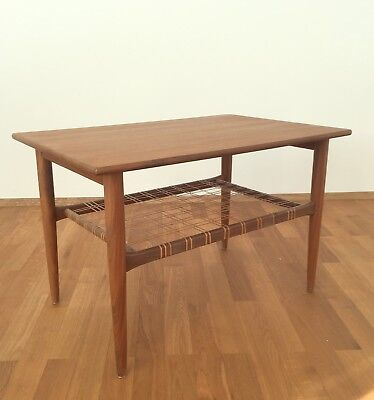 Sofa 60Er 60er mid-century teak couchtisch sofa tisch coffee table danish