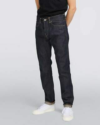Edwin ED-55 Regular Tapered Mens Jeans - 63 Rainbow Selvage Blue Unwashed