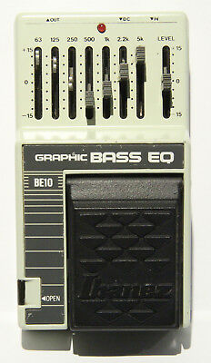 IBANEZ Graphic Bass EQ Equalizer BE 10