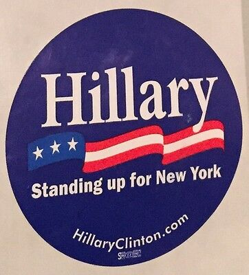 Official Re-Elect Hillary Clinton Sticker!!