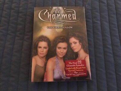Charmed - The Complete Final Season (Dvd, 2007, 6-Disc Set) - Brand New