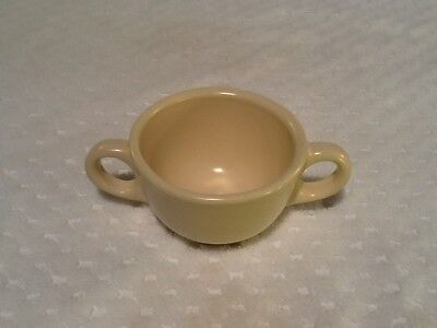 1927-37 Catalina Island Pottery White Serving Cup / Passing Bowl