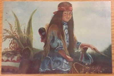 Postcard Apache Celebration, Painting by Wanda Young Dowdy, Mewhinney Card Co