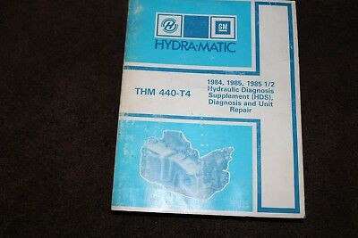 BUICK KNOW-HOW THM 440-T4 AUTOMATIC TRANSMISSION DIAGNOSIS SERVICE TRAINING OEM