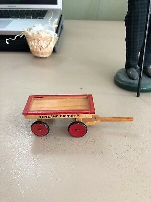 Byer's Choice Caroler toy wagon accessory