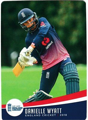Tap n Play Official 2018 England Cricket Card 060 Dani Wyatt