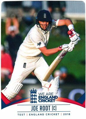 Tap n Play Official 2018 England Cricket Card 002 Joe Root