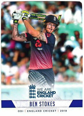 Tap n Play Official 2018 England Cricket Card 074 Ben Stokes