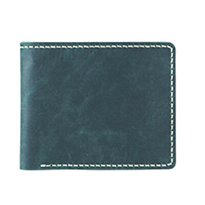 DIY Green Leather Wallet Purse Kit Leather Blanks for Making Bifold Purse