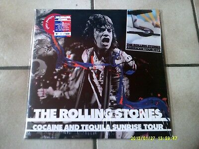 LP The Rolling Stones - Cocaine And Tequila Sunrise Tour - Red Vinyl