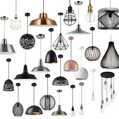 [lux.pro] Hanging Light Metal Industrial Ceiling Light Light Hanging Light