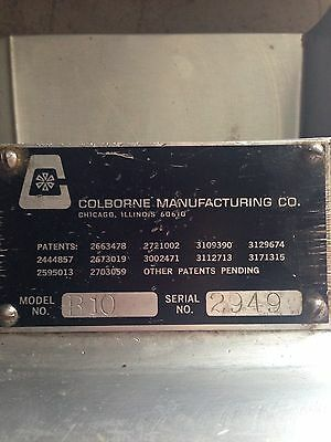 """Colborne B10"" Hd Commercial ¾Hp Counter-Top 24"" Dbl. Pass Through Dough Roller"