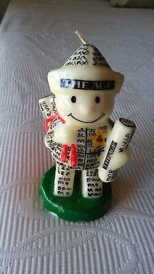ICPOTA  - The Age Newspaper Delivery Boy Candle circa early 1980s