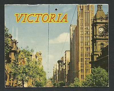 VIC - c1960s SOUVENIR BOOKLET - MELBOURNE & COUNTRY VICTORIA, 12 Pages, 14x11cm