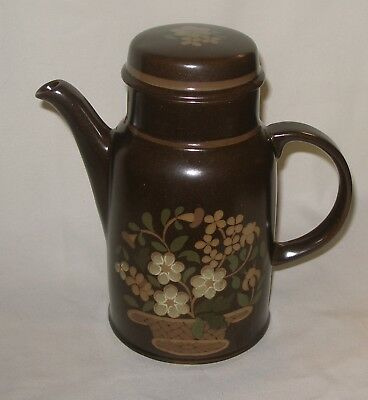 Vintage ROYAL DOULTON Made In England ~ BASQUE ~ COFFEE POT & LID ~New/Old Stock