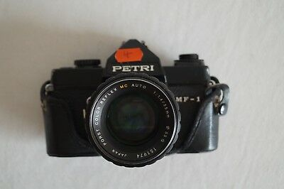 Petri MF-1 Kamera Objektiv Porst Color Reflex 1,4/55 mm 151974 #10004
