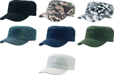 ATLANTIS UNIFORM MILITARY Cap Chino Cotton Army Cap Hat Headwear Unisex New