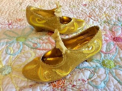 Beautiful Belle Beauty And The Beast Disney Store Shoes In Perfect Condition