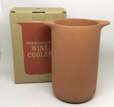 Jamie Oliver Terracotta Wine Cooler Boxed New Jme Designed By Russell Pinch
