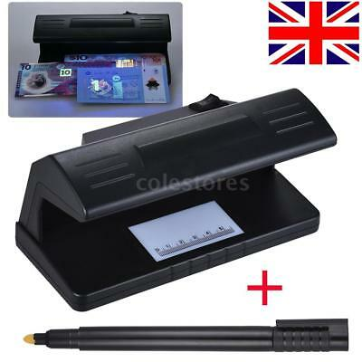 UV Counterfeit Fake Polymer Banknote Money Bill Forgery Detector Checker Tester