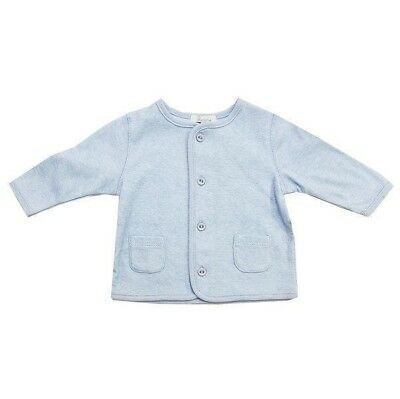 Baby Jacket Plum Precious Clothes Lightweight Breathable Cotton Blue Coat Size 0