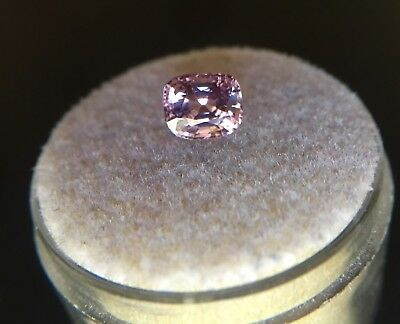 NATURAL 1.25ct Purple Pink Spinel UNTREATED Cushion Cut Loose Gem RARE