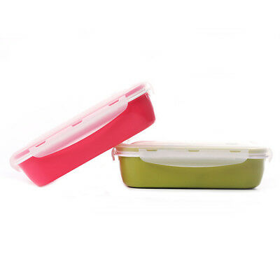 Food grade PP plastic Microwave Lunch Box W/Spoon&Soup bowl Food Container -BM68
