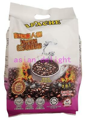 Apache Ipoh China Town Charcoal White coffee 2 in 1 (20 g x 20 sachets)
