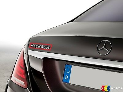 Neuf Veritable Mercedes Benz Classe S W222 Coffre Arriere Maybach Logo Embleme