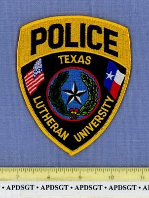 TEXAS LUTHERAN UNIVERSITY Sheriff College School Campus Police Patch LONE STAR