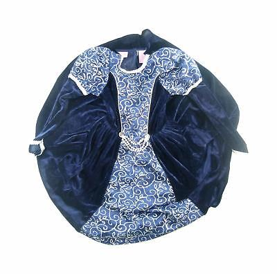 I Want To Be Girls Blue Dress Age 3-4