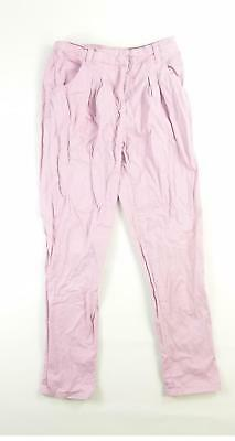 Denim Co Girls Pink Trousers Age 9-10
