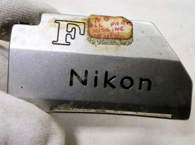 Nikon F TN Photomic Camera logo name plate part